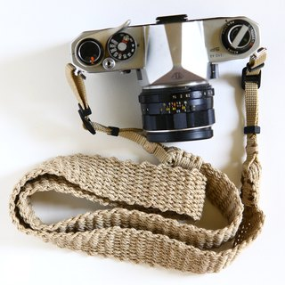 Hemp string hemp camera strap WIDE