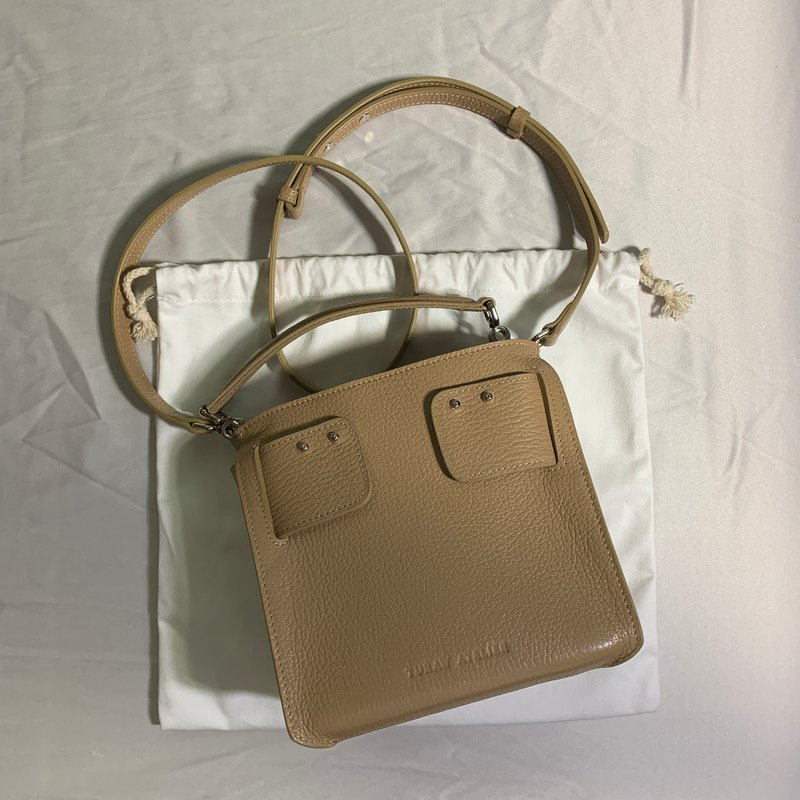 Topy Bucket Bag in Haystack