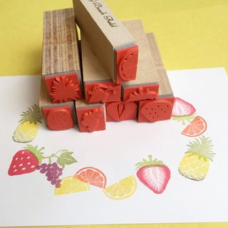 Fruits petit stamp set