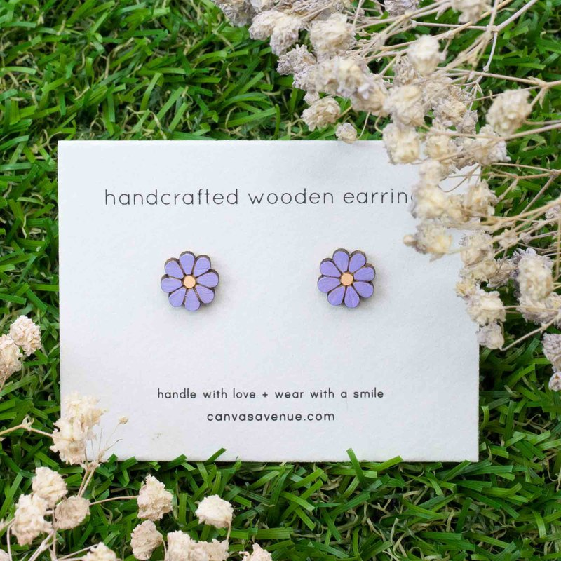 Daisy Earrings, Daisy Stud Earrings