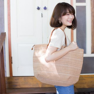 Oversize Sweet Journey Bags Botanical Dyed Cotton