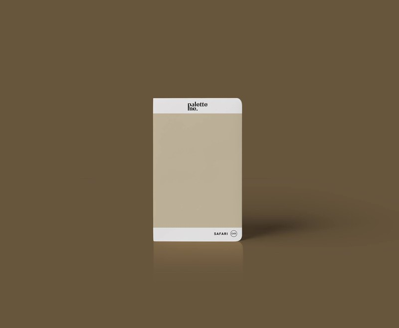 049 Safari - Palette Me Mini Notebook A6