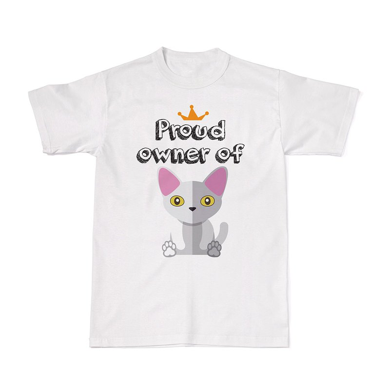 Proud Cat Owners Tees - Devon Rex Cat