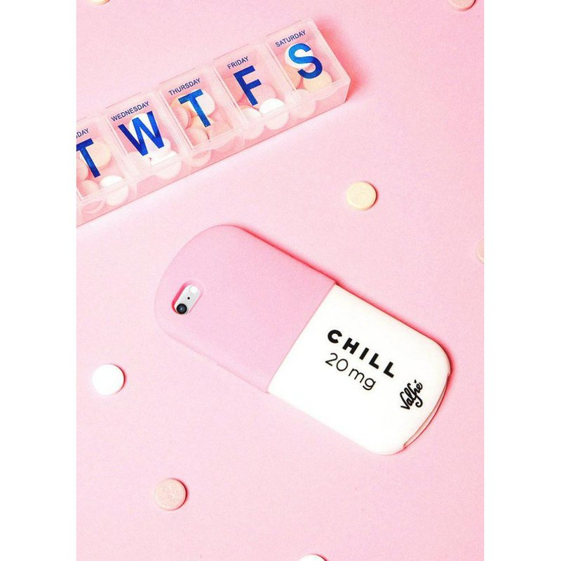 美国 Valfre / Chill Pill 药丸 3D iPhone 手机壳