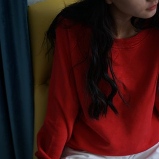 ee18/ Basic Sweater (red)