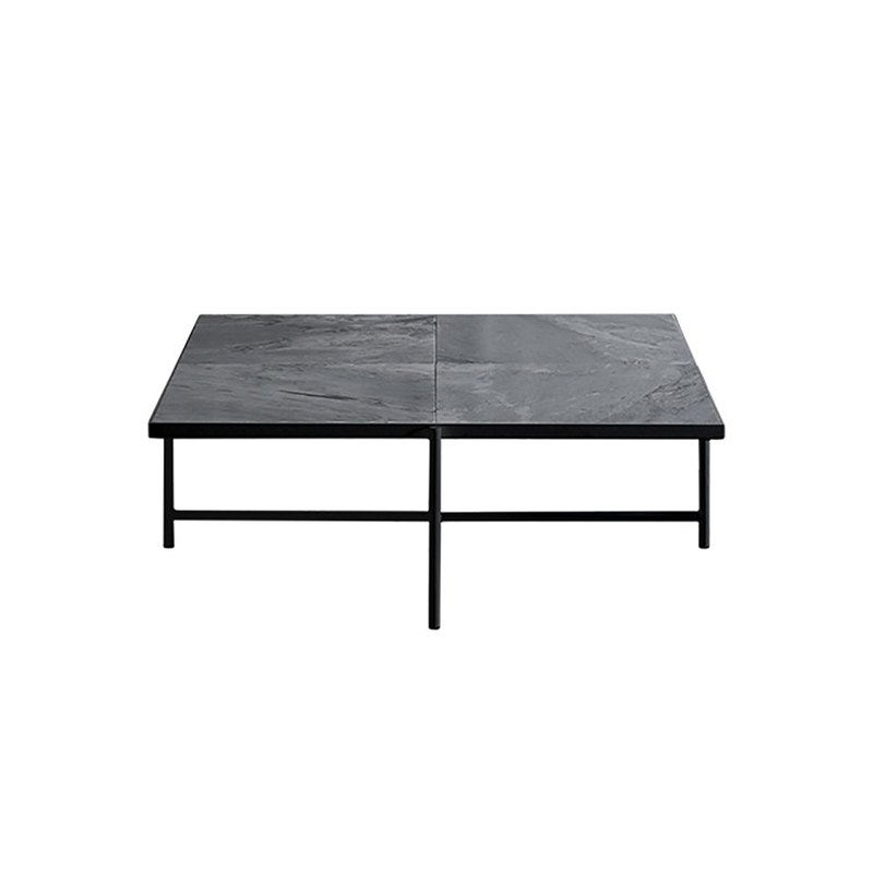 HANDVARK - COFFEE TABLE 90 BLACK-GREY