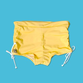 Mellow Yellow ruched short