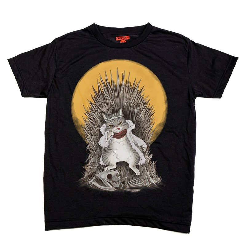 Cat of Throne Chapter One T-shirt