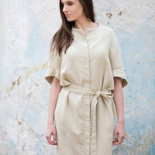 Linen Dress Motumo 16S16