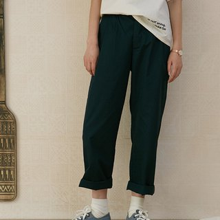 Navy Hip Pants