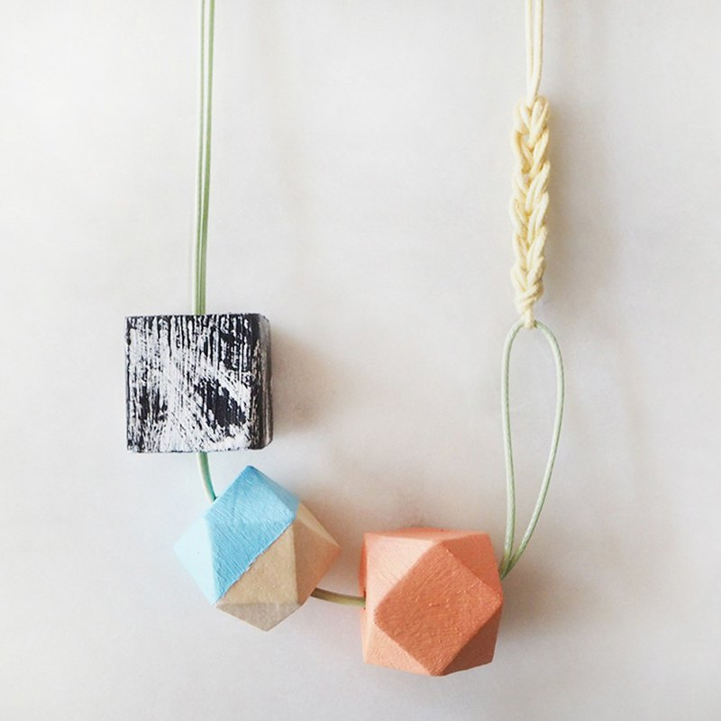 The Geometric Series Necklace – Emily by unit515