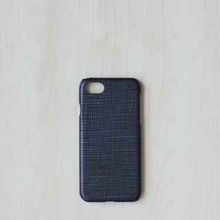 Leather case for Iphone 7/8 (Metallic Black - limited)