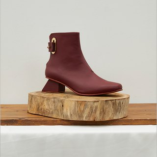 2.4 THE VOYAGE BOOTIE / BURGUNDY
