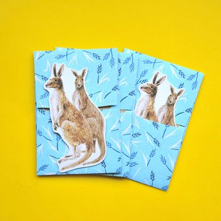 small envelope with card/Kangaroo