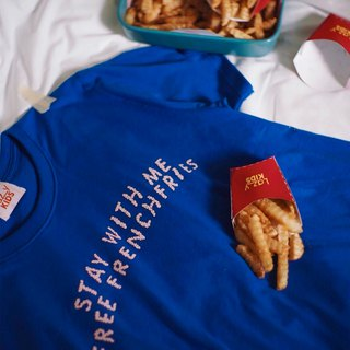 Stay with me, free French fries t-shirt