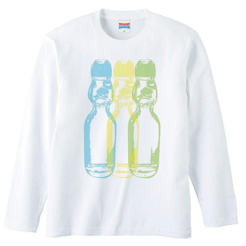 [Long sleeve T-shirt] Ramune 2