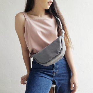 MINI GRAY TOP BAG