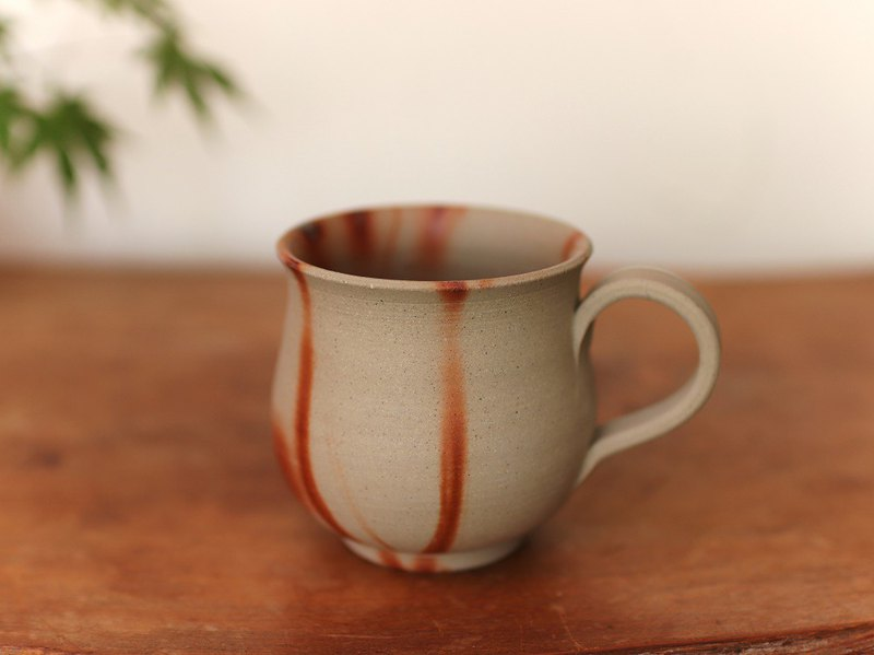 Bizen-yaki coffee cup (medium) c2-172