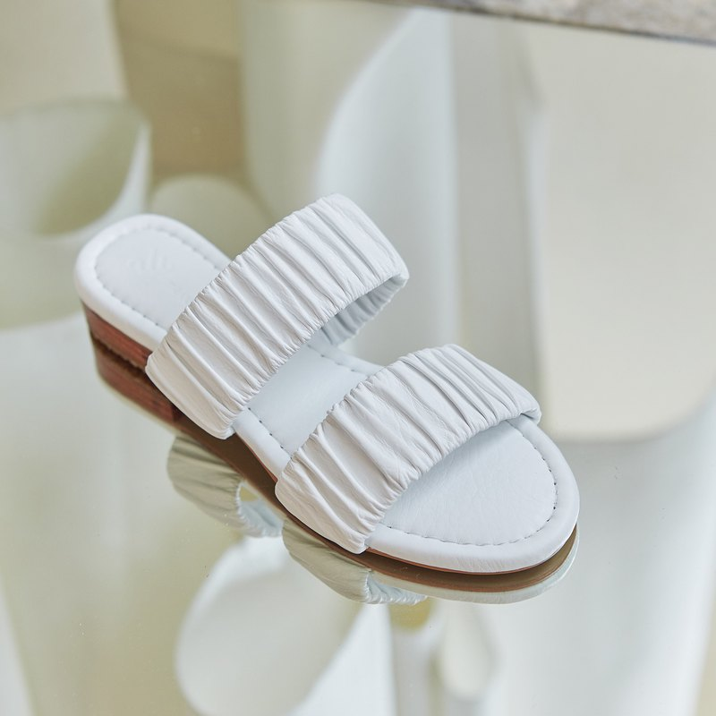 White - Celosia Sandals