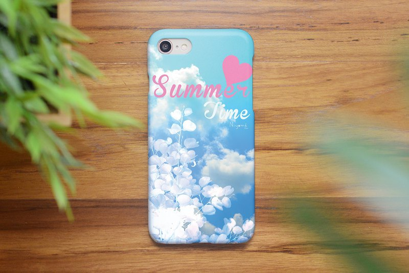 59-3 summer time sky iphone case for iphone 6,7,8, plus iphone xs, iphone xs max
