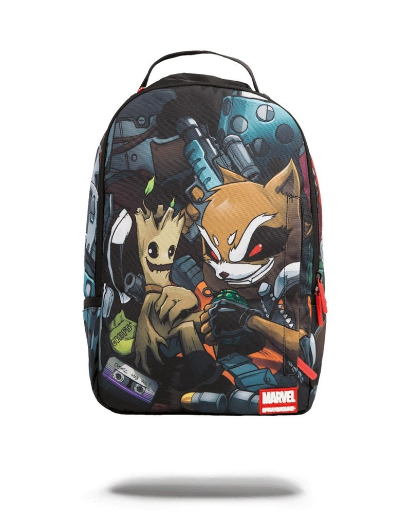 【SPRAYGROUND】DLX MARVEL 联名系列 Guardians of the Galaxy Stowaways 星际异攻队偷渡潮流笔电后背包