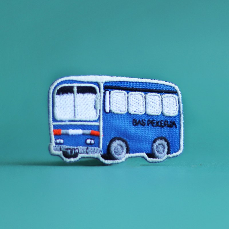 Mini Bus Iron-on Patches