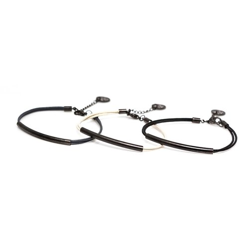 简约皮绳手链饰品 Solo Accessories Basic Leather Bracelet