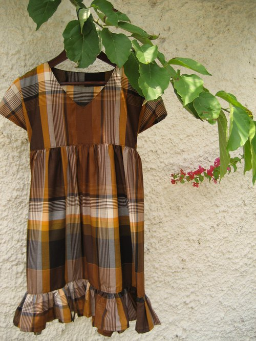 Tunic Dress Indonesian Sarong Fabric