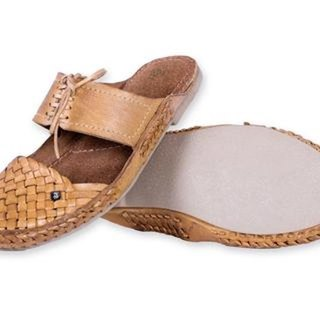 Funk Natural Handmade Leather Women Shoes