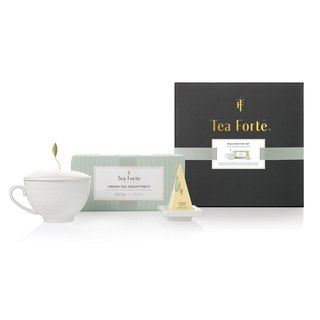 Tea Forte 单人独享 茶品茶具礼盒 Rejuvenation Gift Set