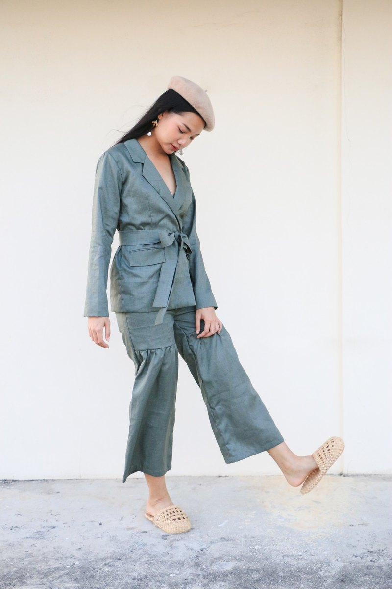 Lady Lord Pants Olive Green