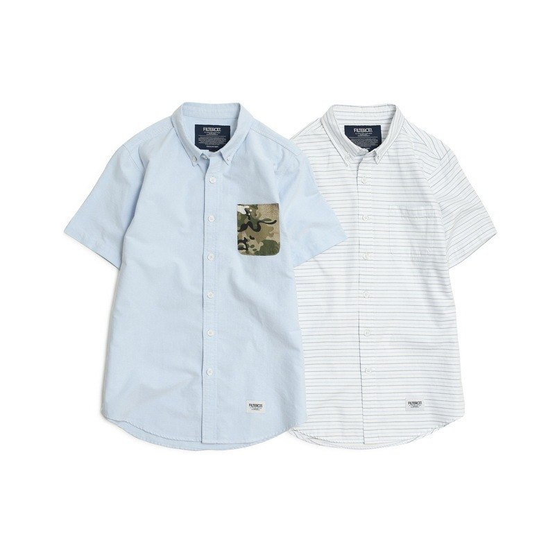 Filter017 Short-Sleeved Oxford Shirt  牛津短袖衬衫