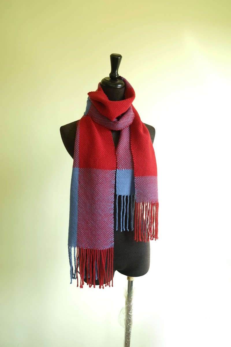 Handwoven by Carina | Angora blended natural fiberScarf
