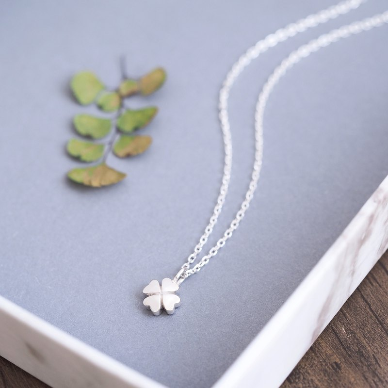 Four leaf Clover Necklace Silver 925