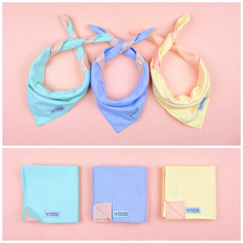 TWO SIDED PASTEL BANDANA