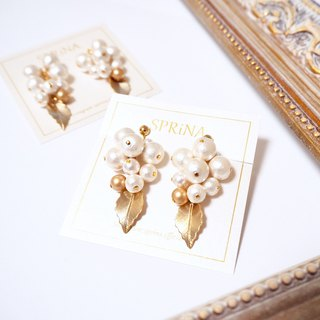 Earrings of korokoro tree nostery