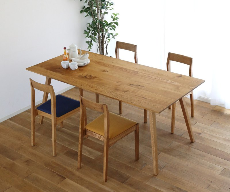 旭川家具 gauzy calm works DINING TABLE THREE 餐桌
