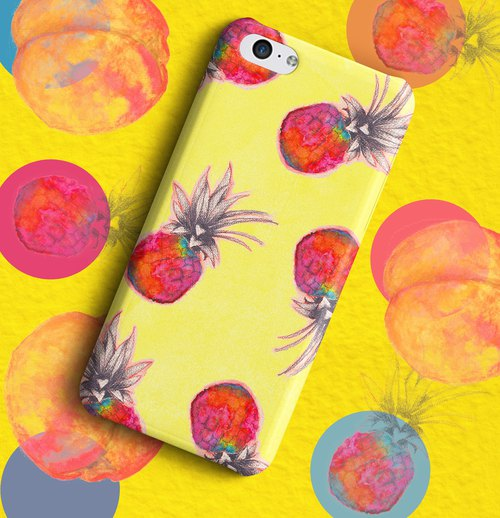Few Pineapples  Phone case
