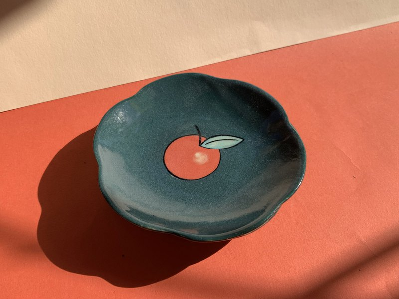Apple Mini Plates (ring holder) l ceramics l May&Clay Ceramics Studio