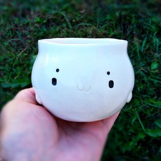 White seal cup 1 Ceramics work Japan