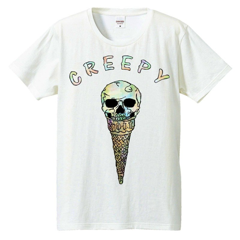 [T-shirt] Creepy ice cream