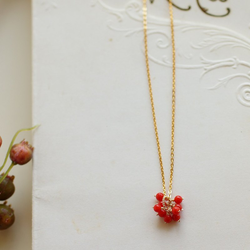 14kgf - this coral necklace