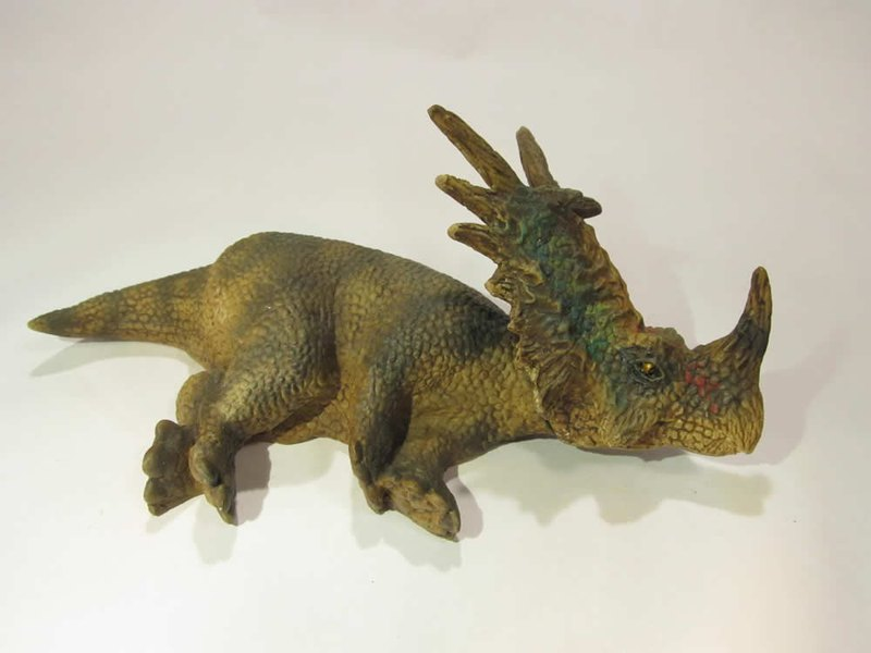 Head magnet type dinosaur model keratops B type