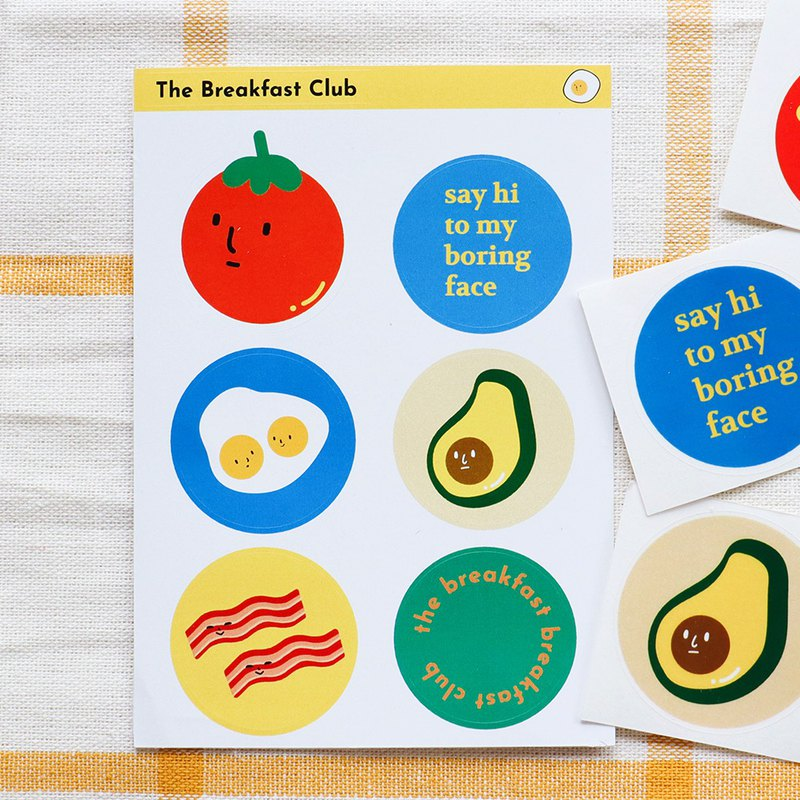 Sticker pad : The Breakfast Club