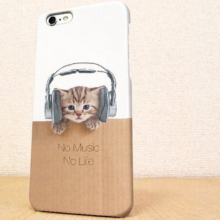 iPhone5 case iPhone5s case iPhone6 case iPhone6s case iPhone6 Plus case iPhone6s Plus case GALAXY case Cats No Music No Life