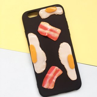 egg+becon 2 black Case