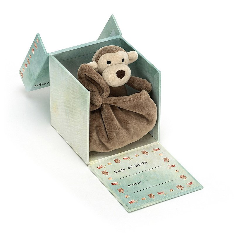 Jellycat My First Monkey Soother 宝宝的第一条安抚巾 礼盒