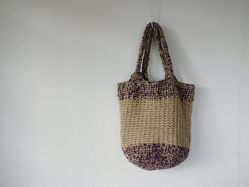 Big shoulder bag (purple)