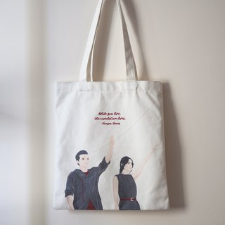 Tote bag/布袋 - Hunger Games