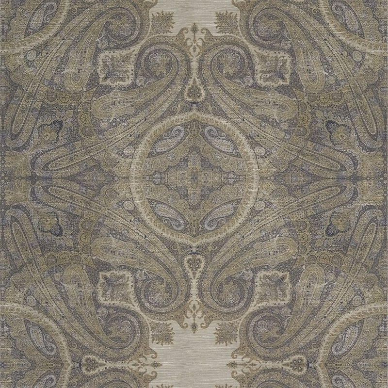 Zoffany_ Kempshott Wallcoverings_Elswick Paisley 埃尔斯威克